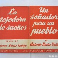 Libros de segunda mano: LOTE DE D0S LIBROS COLECCION TEATRO Nº 16 / 235 (EXTRA) EDICIONES ALFIL. Lote 222752998