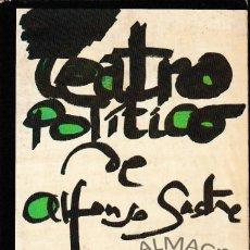 Libros de segunda mano: TEATRO POLÍTICO (ALFONSO SASTRE, 1979) SIN USAR. Lote 222785927