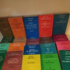 Libros de segunda mano: 44 TÍTULOS CUADERNOS PARA EL DIÁLOGO TEATRO. Lote 222820727