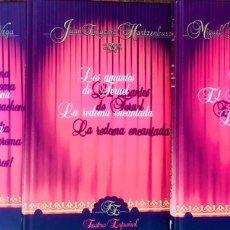 Libros de segunda mano: LOTE DE 3 LIBROS COLECCIÓN TEATRO ESPAÑOL - RICARDO DE LA VEGA. Lote 223134440