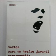Libros de segunda mano: TEXTOS PARA UN TEATRO JUVENIL COMPROMETIDO - MARIO PAPADIA - EDICIONES SÍGUEME. Lote 223488443