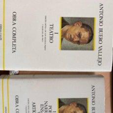 Libros de segunda mano: ANTONIO BUERO VALLEJO OBRA COMPLETA (DOS TOMOS). Lote 224839332
