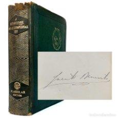 Libros de segunda mano: 1942. ¡FIRMADO POR EL AUTOR! JACINTO BENAVENTE: OBRAS COMPLETAS V - PREMIO NOBEL DE 1922 - RARO. Lote 226835695