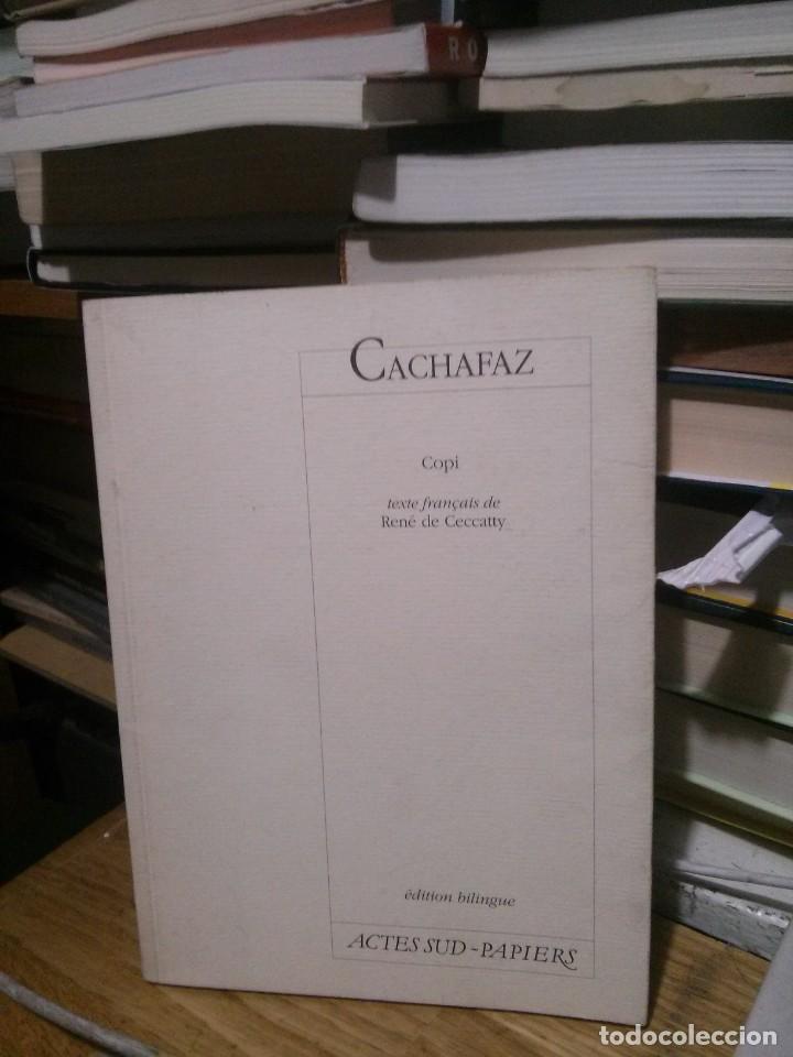 CACHAFAZ, COPI ACTES SUD PAPIERS, EDITION BILBINGUE (Libros de Segunda Mano (posteriores a 1936) - Literatura - Teatro)