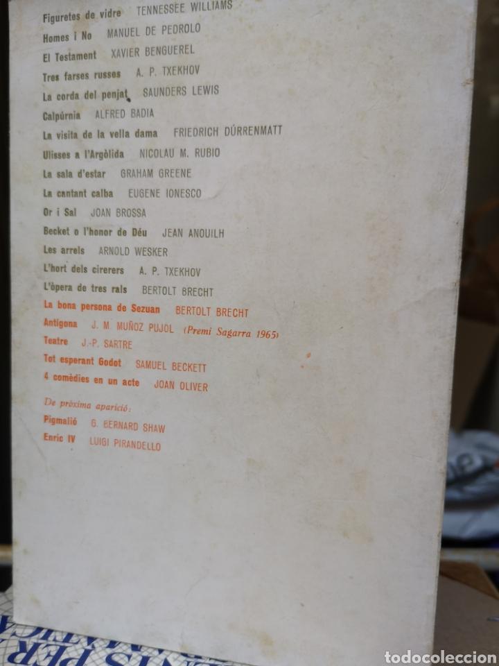 Libros de segunda mano: JOAN OLIVER. 4 comèdies en un acte. Pròl. JORDI CARBONELL. Aymà, 1a ed, Barcelona 1970. - Foto 2 - 227844290