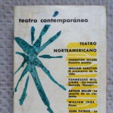 Libros de segunda mano: TEATRO NORTEAMERICANO CONTEMPORÁNEO AGUILAR TERCERA EDICIÓN 1965. Lote 227963190