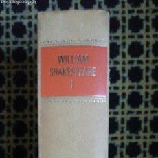 Libros de segunda mano: WILLIAM SHAKESPEARE. TRAGEDIAS. CÍRCULO DE LECTORES. 1972 ROMEO Y JULIETA JULIO CESAR MATCBETH HAM. Lote 228241170