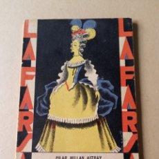 Libros de segunda mano: ADÁN Y EVA PILAR MILLÁN ASTRAY LA FARSA 1929. Lote 228712385