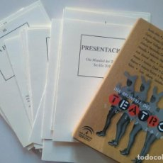 Libros de segunda mano: 25 AUTORES DRAMÁTICOS ANDALUCES. DÍA MUNDIAL DEL TEATRO SEVILLA 2010. Lote 229023790