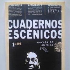 Libros de segunda mano: CUADERNOS ESCÉNICOS DE LA CASA DE AMÉRICA 1. RING-SIDE DE DANIEL VERONESE. Lote 229028390