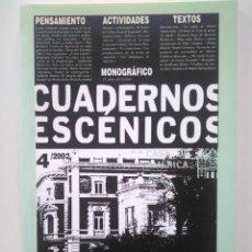Libros de segunda mano: CUADERNOS ESCÉNICOS CASA AMÉRICA 4. SPREGELBURD, CARLOS ROD, GUILLERMO HERAS, TANIA CÁRDENAS.... Lote 229029120