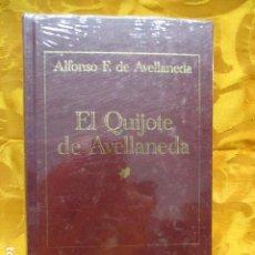 Libros de segunda mano: EL QUIJOTE DE AVELLANEDA. NUEVO Y PRECINTADO. Lote 229078930