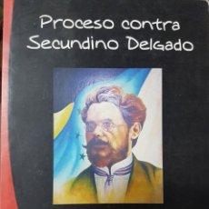 Libros de segunda mano: PROCESO CONTRA SECUNDINO DELGADO - JOSÉ MANUEL VILAR - TEATRO - EJC. Lote 229353245