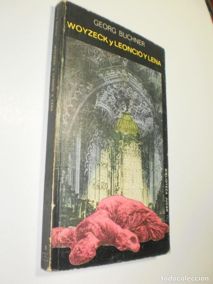 WOYZECK Y LEONCIO Y LENA. GEORG BUCHNER. JÚCAR 1974 135 PÁG TAPA BLANDA (ESTADO NORMAL) (Libros de Segunda Mano (posteriores a 1936) - Literatura - Teatro)