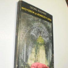 Libros de segunda mano: WOYZECK Y LEONCIO Y LENA. GEORG BUCHNER. JÚCAR 1974 135 PÁG TAPA BLANDA (ESTADO NORMAL). Lote 229898190