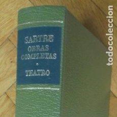 Libros de segunda mano: SARTRE. OBRAS COMPLETAS. TEATRO. BIBLIOTECA DE AUTORES MODERNOS. TOMO I. AGUILAR.. Lote 230387520