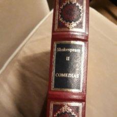 Libros de segunda mano: COMEDIAS TOMO II .WILLIAM SHAKESPEARE. GRANDES GENIOS DE LA LITERATURA UNIVERSAL VOLÚMEN 60.. Lote 230436110