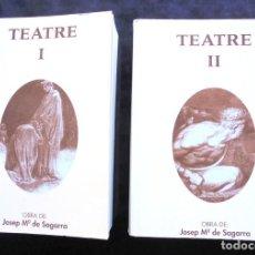 Libros de segunda mano: OBRES COMPLETES TEATRE I-II JOSEP M. DE SAGARRA 1979 SELECTA, BIBLIOTECA PERENNE VOLUMS 29 I 30. Lote 230507275