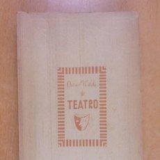 Libros de segunda mano: TEATRO / OSCAR WILDE / BIBLIOTECA NUEVA. Lote 231431910
