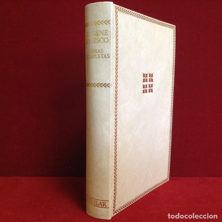 BIBLIOTECA DE AUTORES MODERNOS: EUGENE IONESCO - OBRAS COMPLETAS - 1ª ED. 1973 **AGUILAR** (Libros de Segunda Mano (posteriores a 1936) - Literatura - Teatro)