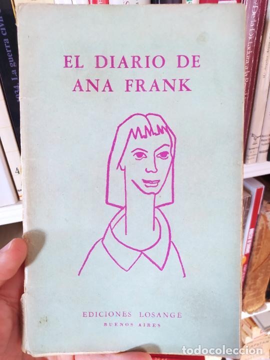Libros de segunda mano: Curiosa teatralización de el diario de ana Frank. Ejemplar anotado para representarlo. - Foto 2 - 232420411