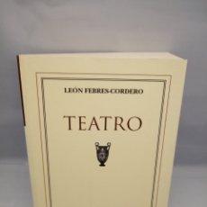 Libros de segunda mano: LEÓN FEBRES CORDERO: TEATRO (PRIMERA EDICIÓN). Lote 232448410