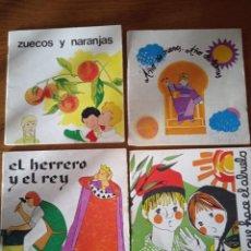 Libros de segunda mano: LOTE 4 LIBROS LA GALERA, 1977 TEATRO AÑO DE NIEVES AÑO DE BIENES, ZUECOS Y NARANJAS, LAS ACEITUNAS,. Lote 233113165