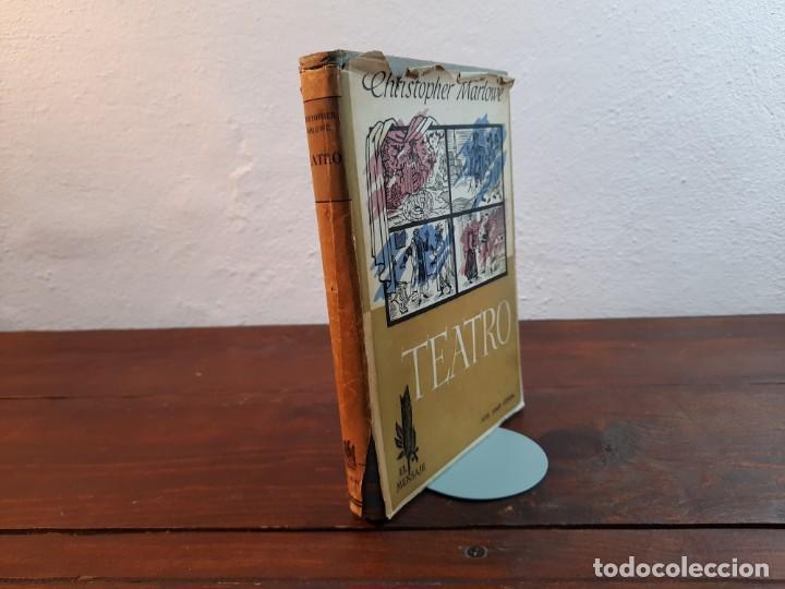 TEATRO - CHRISTOPHER MARLOWE - JOSE JANES EDITOR, 1952, 1ª EDICION, BARCELONA (Libros de Segunda Mano (posteriores a 1936) - Literatura - Teatro)