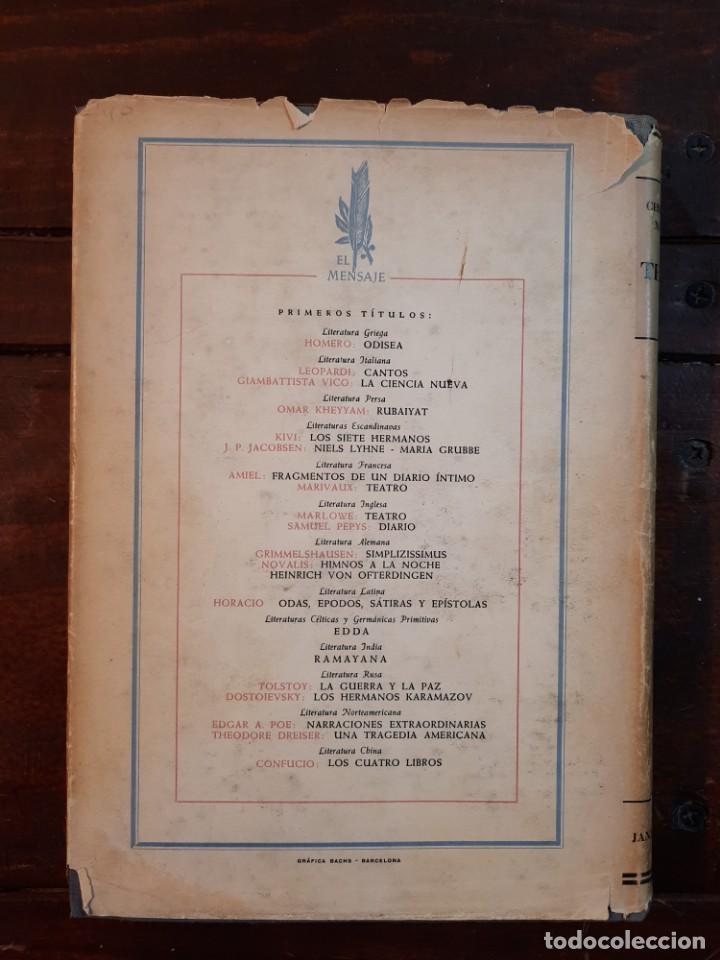 Libros de segunda mano: TEATRO - CHRISTOPHER MARLOWE - JOSE JANES EDITOR, 1952, 1ª EDICION, BARCELONA - Foto 3 - 233938095