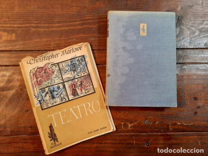 Libros de segunda mano: TEATRO - CHRISTOPHER MARLOWE - JOSE JANES EDITOR, 1952, 1ª EDICION, BARCELONA - Foto 5 - 233938095