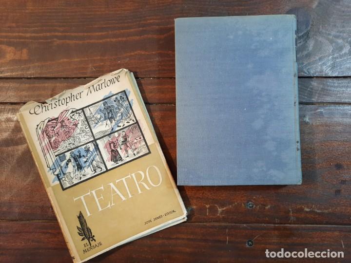 Libros de segunda mano: TEATRO - CHRISTOPHER MARLOWE - JOSE JANES EDITOR, 1952, 1ª EDICION, BARCELONA - Foto 6 - 233938095