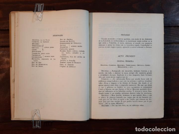 Libros de segunda mano: TEATRO - CHRISTOPHER MARLOWE - JOSE JANES EDITOR, 1952, 1ª EDICION, BARCELONA - Foto 9 - 233938095