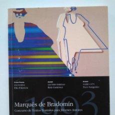Libros de segunda mano: CONCURSO MARQUÉS DE BRADOMÍN 1993. ELIO PALENCIA, RUIZ GUTIÉRREZ, PACO SANGUINO. Lote 234621220