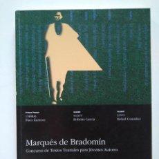 Libros de segunda mano: CONCURSO MARQUÉS DE BRADOMÍN 1996. PACO ZARZOSO, ROBERTO GARCÍA, RAFAEL GONZÁLEZ. Lote 234621355