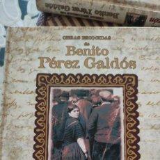 Libros de segunda mano: OBRAS ESCOGIDAS DE BENITO PÉREZ GALDÓS. PRIMERA EDICIÓN. EDICIONES RUEDA 2001-2002.. Lote 235520105