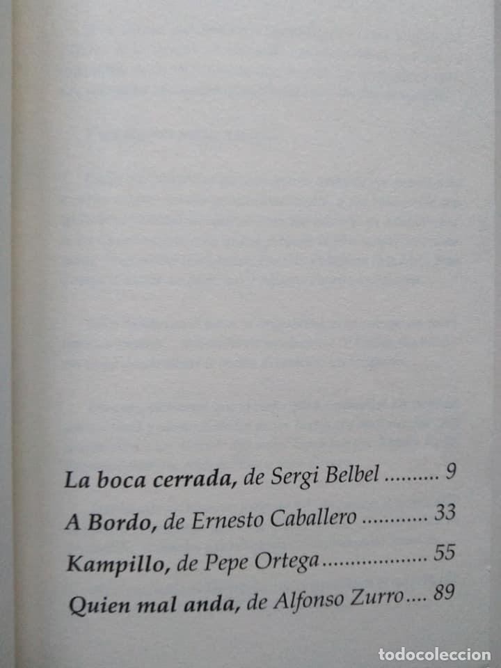 Libros de segunda mano: Sergi Belbel, Ernesto Caballero, Pepe Ortega, Alfonso Zurro: ¡Por mis muertos! - Foto 2 - 235526690