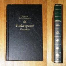 Libros de segunda mano: SHAKESPEARE, WILLIAM. COMEDIAS (HISTORIA DE LA LITERATURA ; 4) / INTROD., ... JOSÉ MARÍA VALVERDE. Lote 235669200