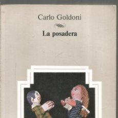 Libros de segunda mano: CARLO GOLDONI. LA POSADERA. AULA. Lote 235801915