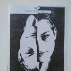 Libros de segunda mano: SARAH KANE. DESGARROS DE REALIDAD. CUADERNILLO DEL CICLO AUTOR TEATRO PRADILLO 6. Lote 236908430