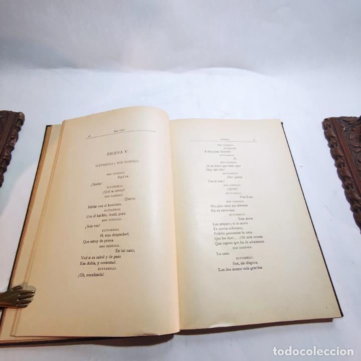 Libros de segunda mano: Don Juan Tenorio. José Zorrilla. Edit. sucesores de Rivadeneyra. Madrid. 1892. - Foto 4 - 236977430