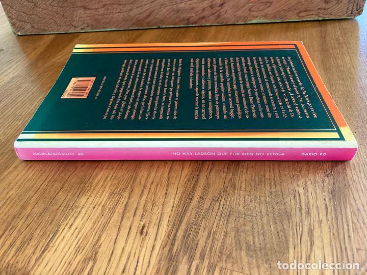 Libros de segunda mano: NO HAY LADRON QUE POR BIEN NO VENGA Y OTRAS COMEDIAS - DARIO FO - SIRUELA - Foto 3 - 237002665