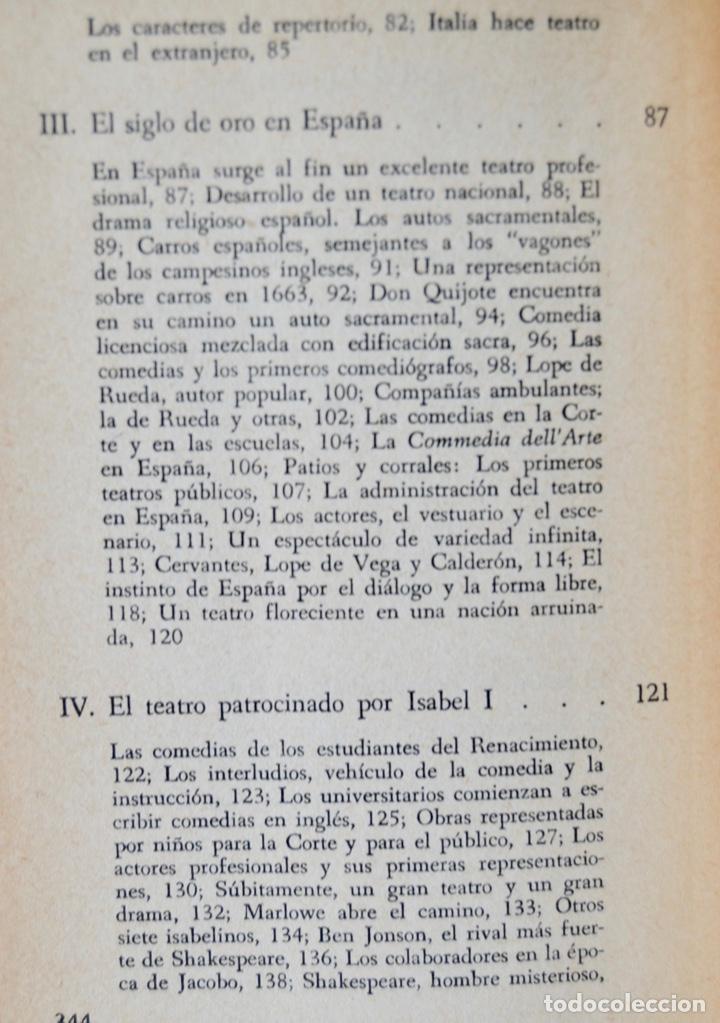 Libros de segunda mano: K. Macgowan y W. Melnitz. Las Edades de Oro del Teatro. Fondo de Cultura Económica. 1ª Edición, 1964 - Foto 6 - 237302095