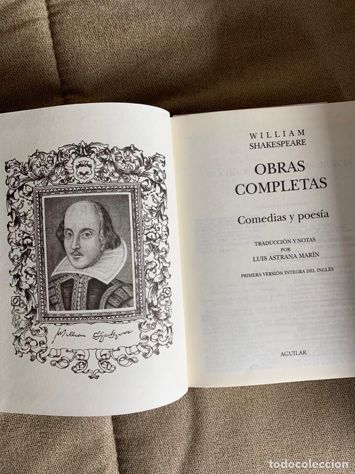 Libros de segunda mano: Obras completas Shakespeare, Aguilar 2 tomos - Foto 3 - 237312055