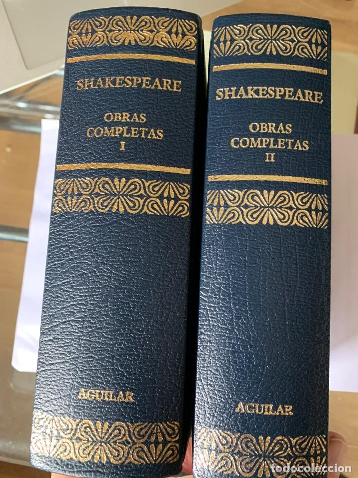 OBRAS COMPLETAS SHAKESPEARE, AGUILAR 2 TOMOS (Libros de Segunda Mano (posteriores a 1936) - Literatura - Teatro)