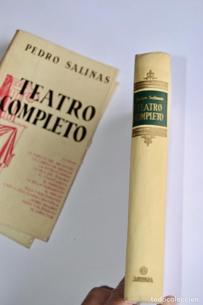 Libros de segunda mano: Pedro Salinas. Teatro Completo. Prólogo de Juan Marichal. Aguilar. Primera Edición. Madrid, 1957 - Foto 10 - 237330555