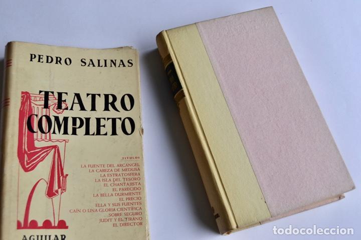Libros de segunda mano: Pedro Salinas. Teatro Completo. Prólogo de Juan Marichal. Aguilar. Primera Edición. Madrid, 1957 - Foto 11 - 237330555