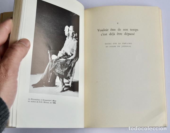 Libros de segunda mano: Eugène Ionesco. Notes et Contre-Notes. Practique du Théâtre. Gallimard. 1962.Ensayos,Conferencias... - Foto 8 - 237333875