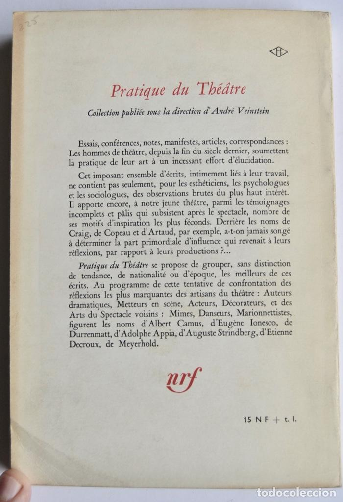 Libros de segunda mano: Eugène Ionesco. Notes et Contre-Notes. Practique du Théâtre. Gallimard. 1962.Ensayos,Conferencias... - Foto 9 - 237333875