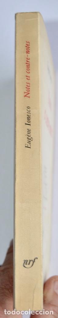 Libros de segunda mano: Eugène Ionesco. Notes et Contre-Notes. Practique du Théâtre. Gallimard. 1962.Ensayos,Conferencias... - Foto 10 - 237333875