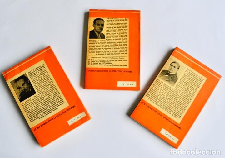 Libros de segunda mano: Lote 3 libros Teatro Colección Pandora. Lenormand, Conrado Nalé Roxlo , E.Labiche y Marc-Michel.1944 - Foto 2 - 237349615